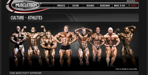 Muscletech Sponsored Athletes