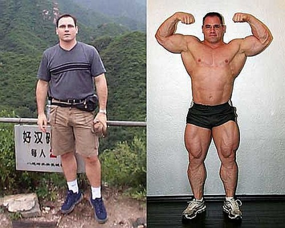 Bodybuilder and convicted steroid dealer David Jacobs