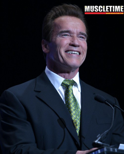 Arnold Schwarzenegger - photo by Raymond Cassar of Muscletime.com