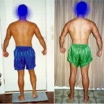 Rear Lat Spread - Before and After - Week 1 (left) vs Week 3 (right)