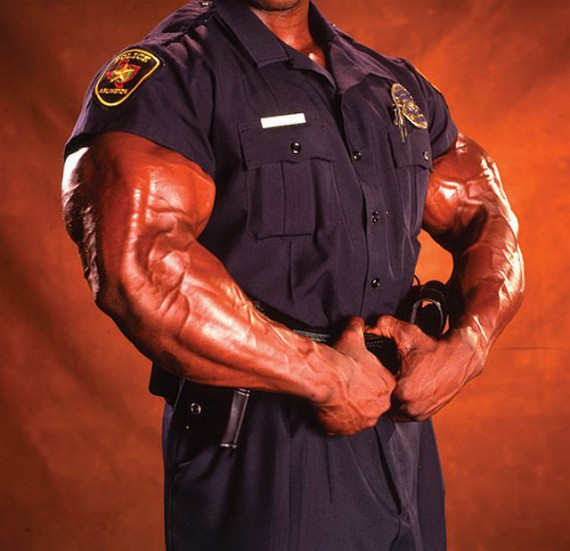 dopers in uniform cops on steroids