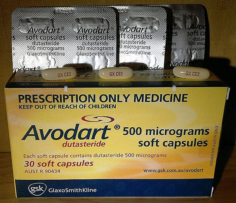 Avodart (Dutasteride) and anabolic steroids