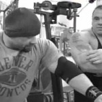 David Jacobs training with IFBB pro bodybuilder Branch Warren