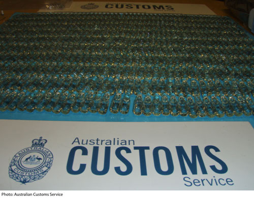 Aburaihan Testosterone Enanthate ampoules seized by Australian customs