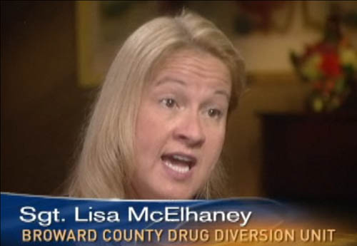 Lisa McElhaney whistleblower in Broward Sheriff's Office steroid scandal