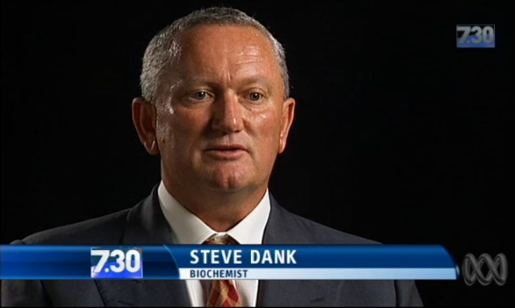 "Biochemist Steve Dank aka ""The Peptide King"" target in peptide witch-hunt in Australia"