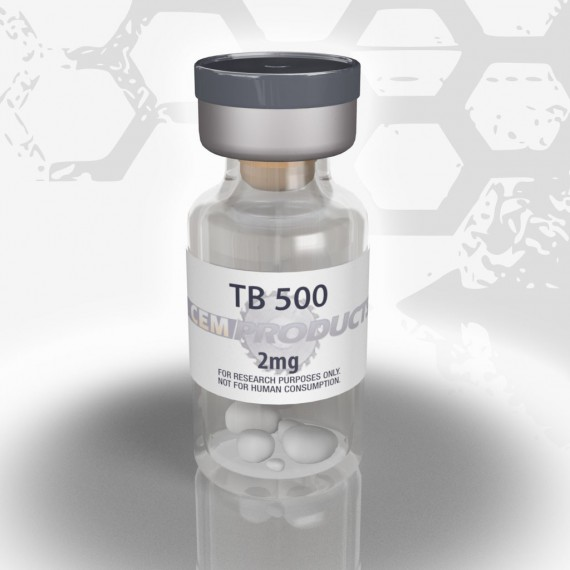 TB-500 is a synthetic peptide related to the hormone thymosin beta-4