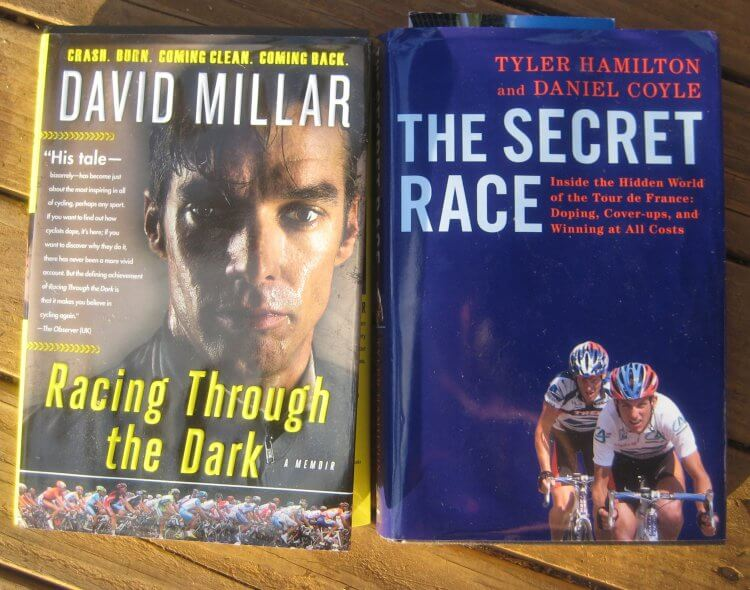 David Millar's Racing through the Dark and Tyler Hamilton's The Secret Race