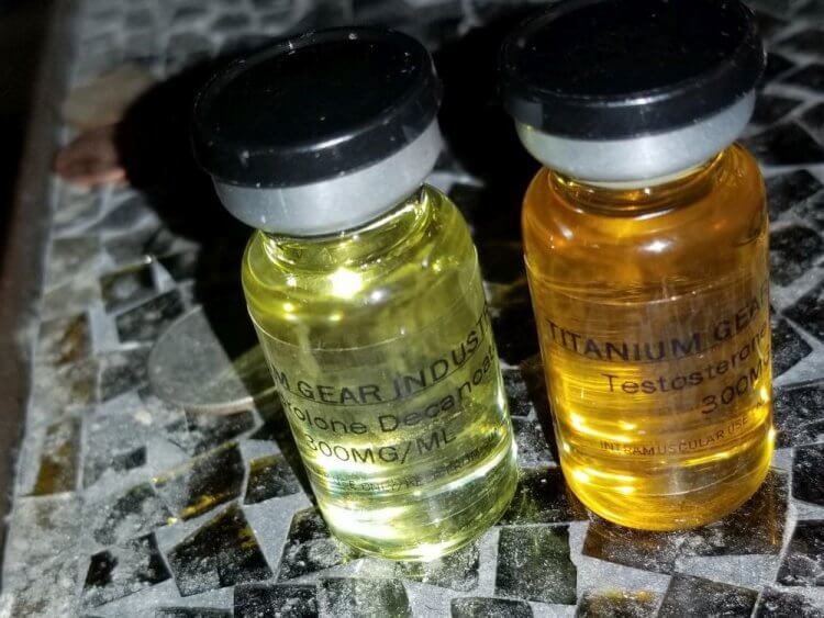 Nandrolone decanoate and Testosterone enanthate (Titanium Gear)