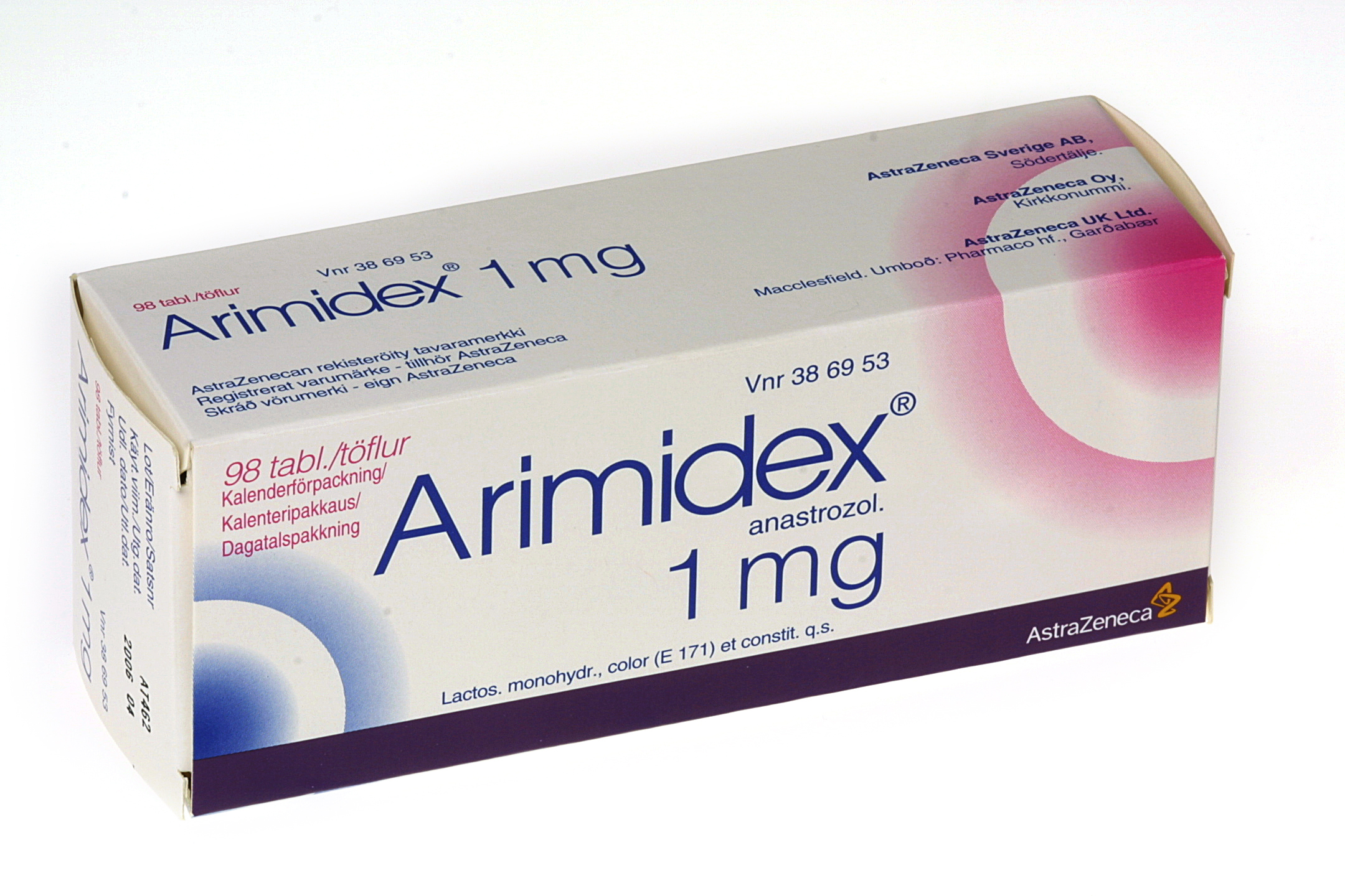 arimidex per day